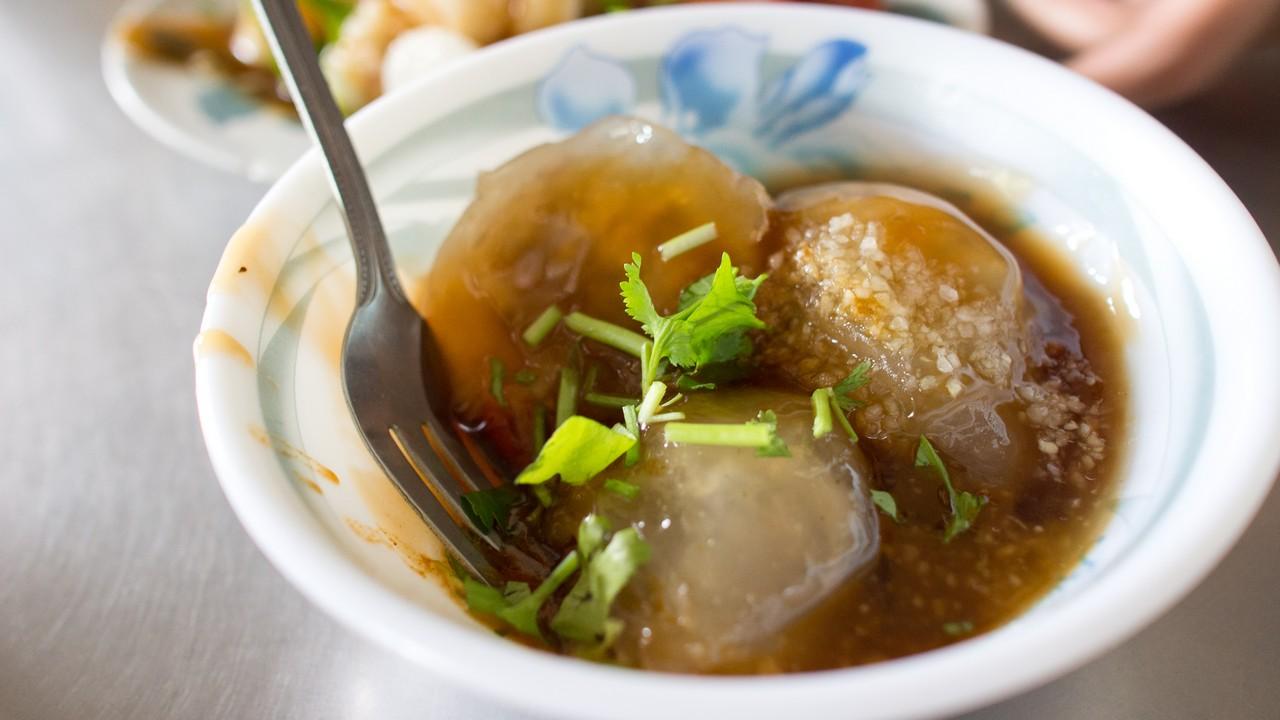 【屏東美食】東港 正宗肉丸 》第二市場中的傳統平價美食