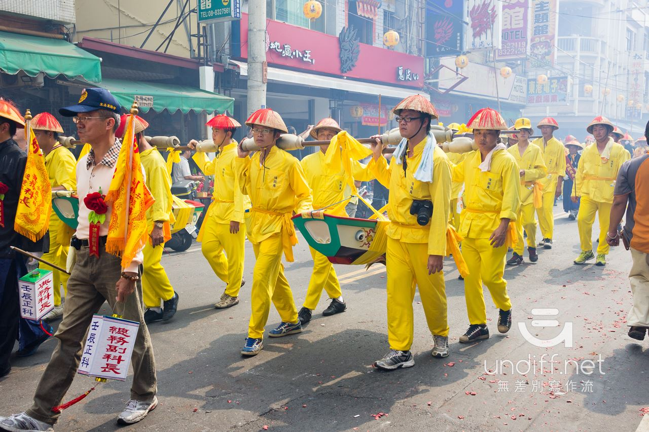 2012 東港迎王 遷船 王船遶境