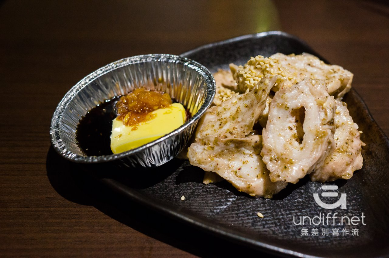 【台北美食】大安 油花炭火燒肉專門店 》物有所值的單點燒肉