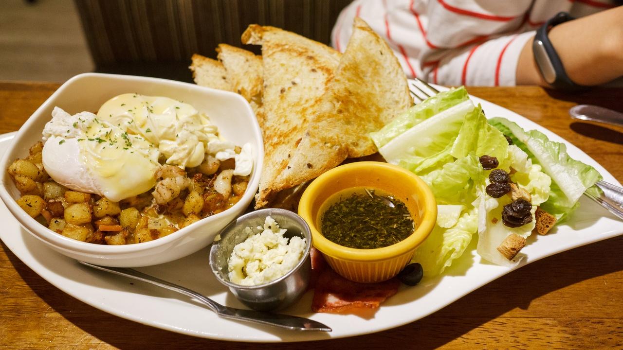 【台北美食】貳樓餐廳 Second Floor Cafe 敦南店 》晚餐也要享受好吃的早午餐 1