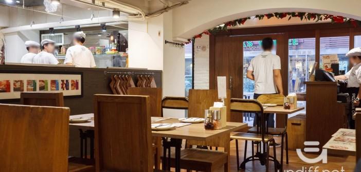 【台北美食】大安 PIZZERIA OGGI 敦南店 》拿坡里&羅馬披薩專賣:墨魚醬海鮮披薩太好吃啦! 12