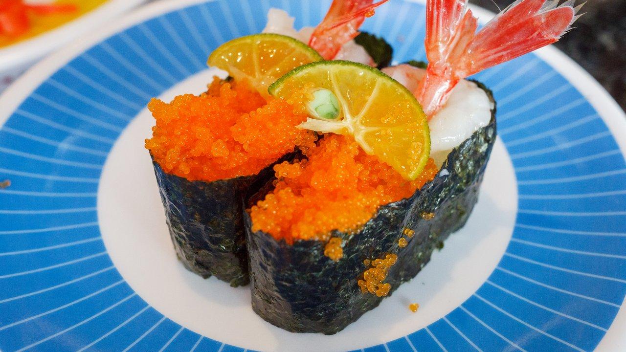 【台北美食】內湖 海壽司 內湖店 》好吃但吃不太飽的迴轉壽司 1