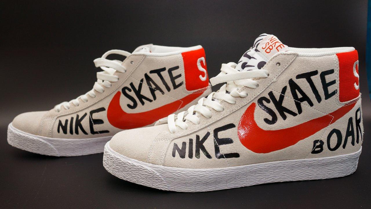 【開箱】Nike SB Blazer Premium x Geoff McFetridge 聯名款板鞋 1