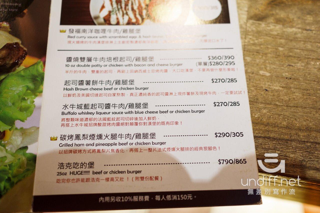 Bravo Burger 發福廚房 民權店 菜單