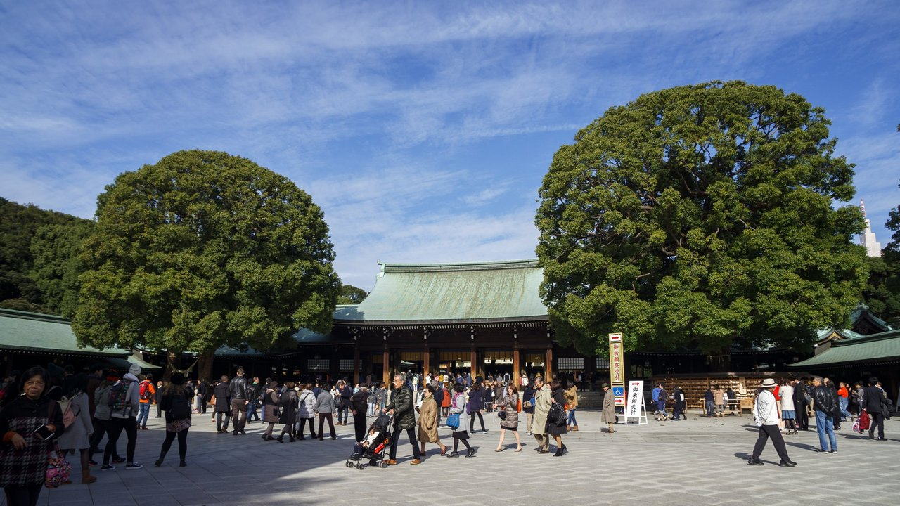 【東京景點】原宿 明治神宮 》都市叢林中的靜謐之地 1