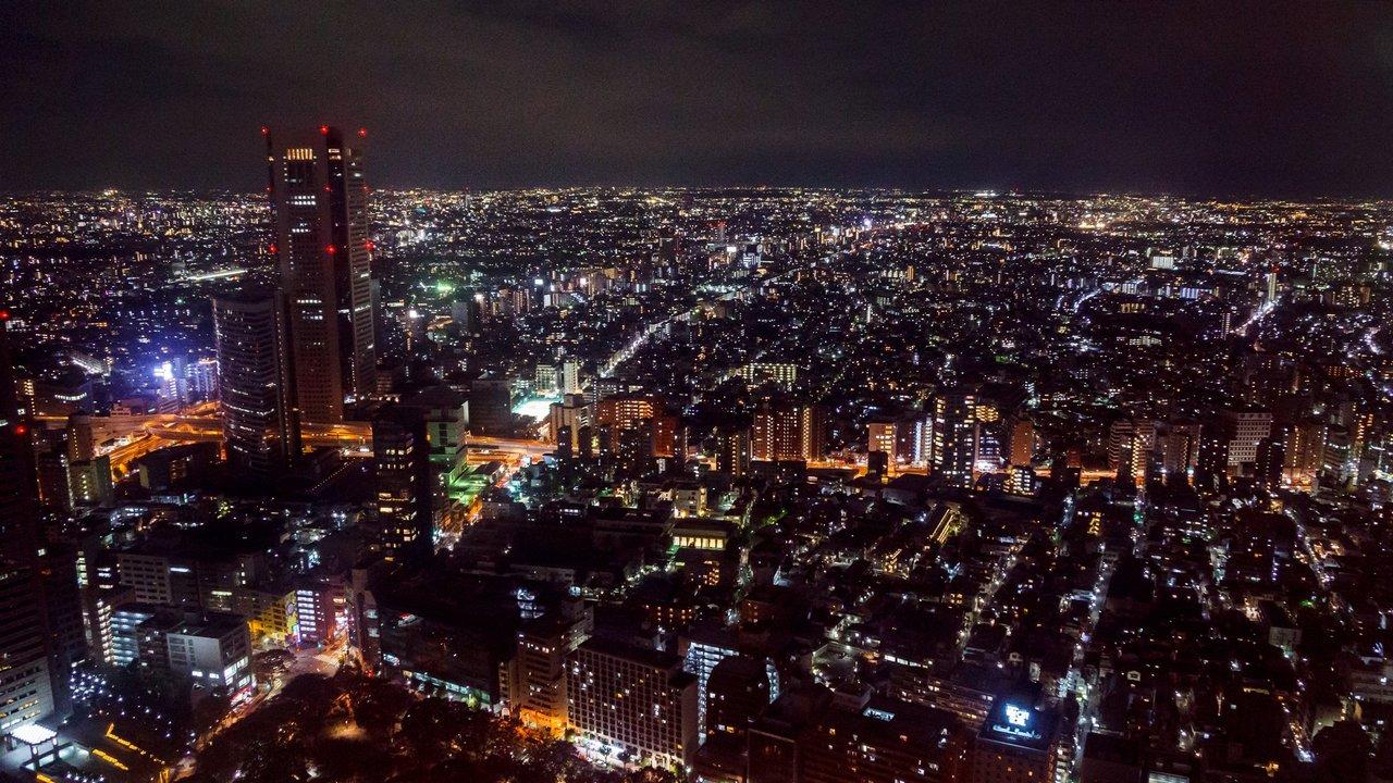 【東京景點】新宿 東京都廳展望室 》免費飽覽東京美麗夜景 1