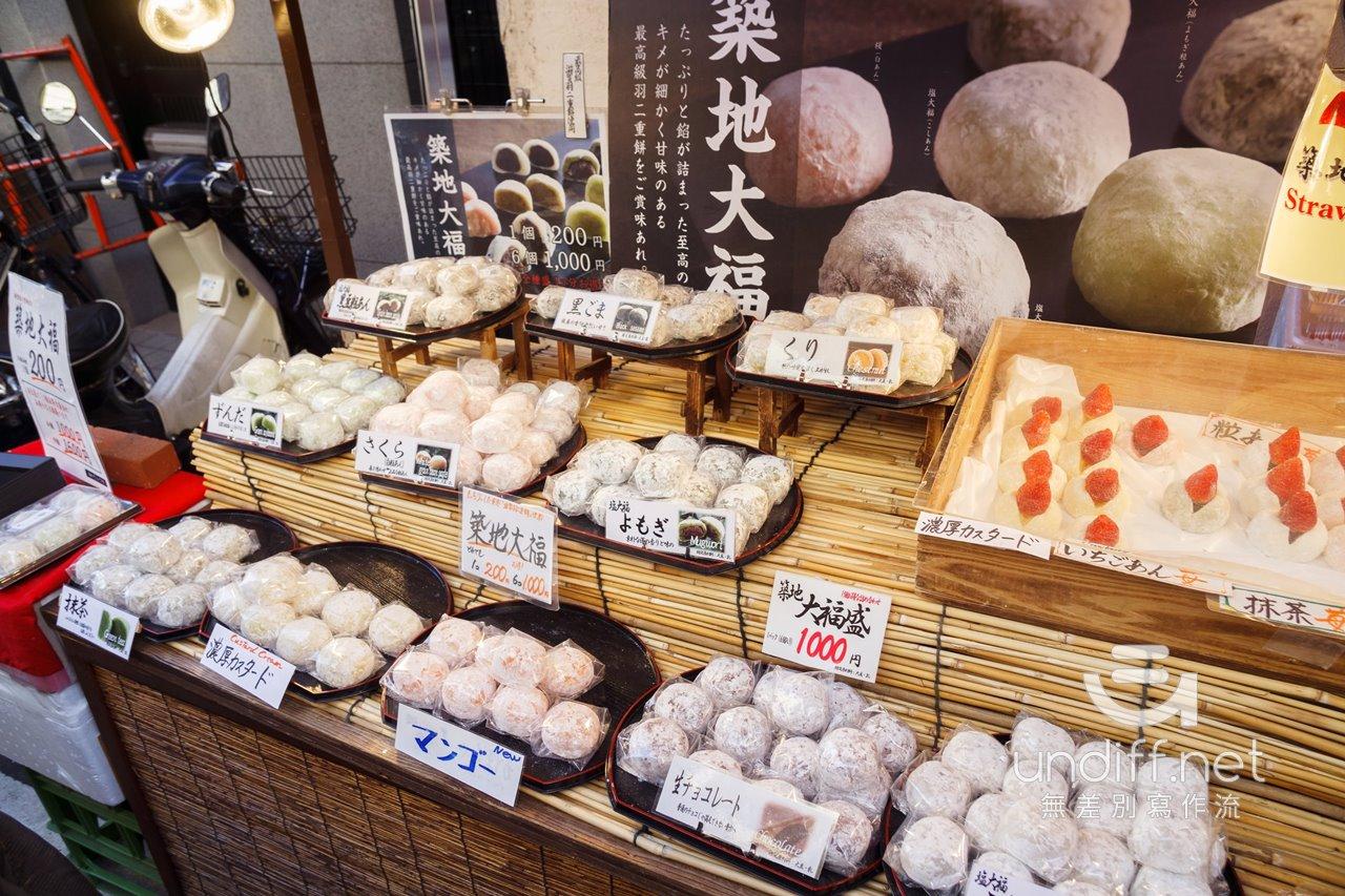 【東京美食】築地 小吃 》丸武玉子燒、カキ小屋、築地大福、茂助だんご