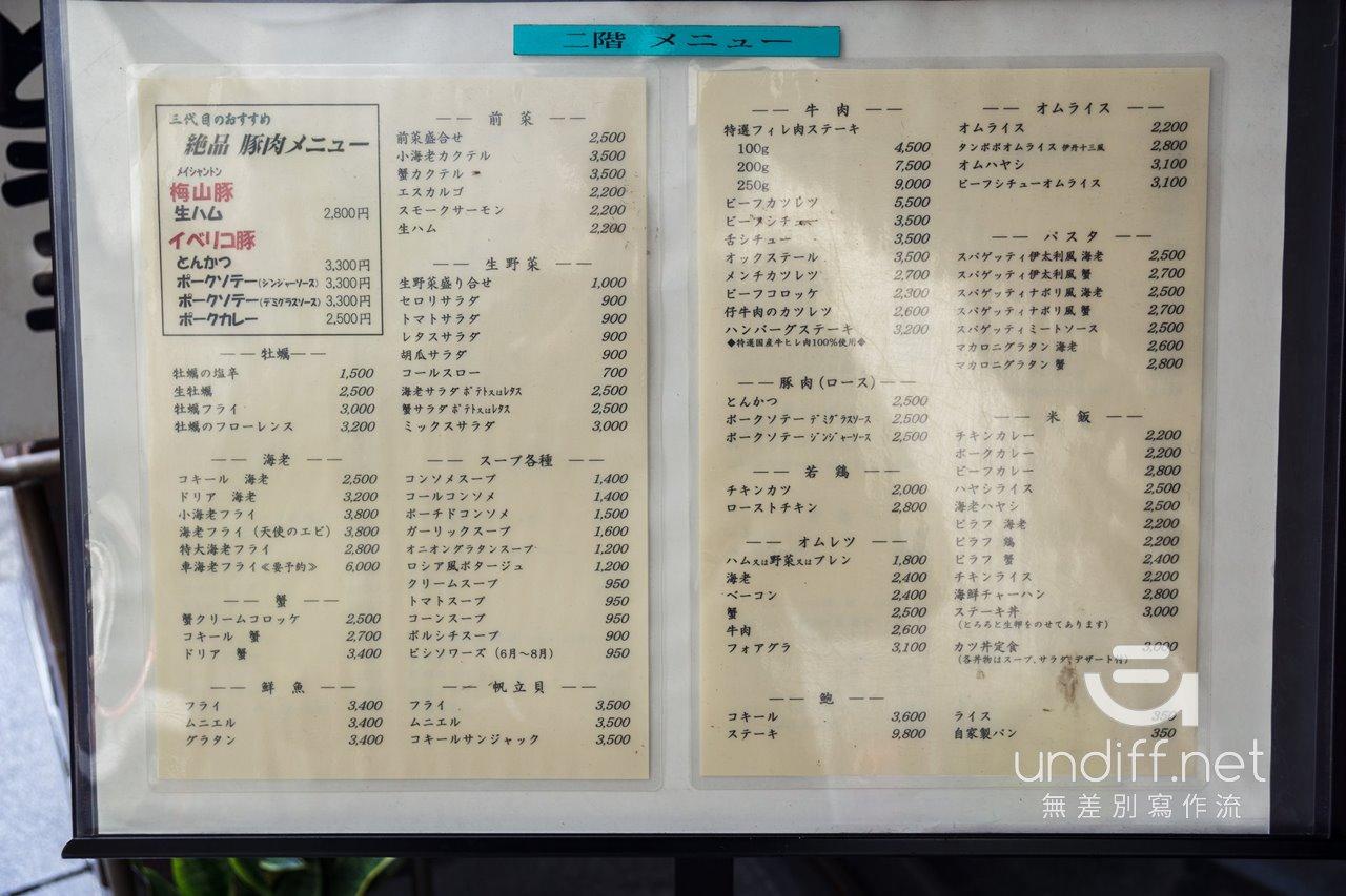 【東京美食】日本橋 泰明軒 》劃開傳說中的蒲公英蛋包飯