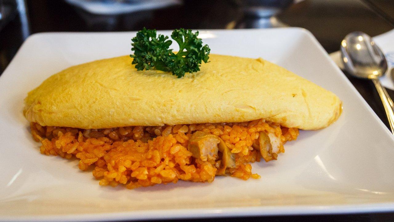 【東京美食】日本橋 泰明軒 たいめいけん 》劃開傳說中的蒲公英蛋包飯 1