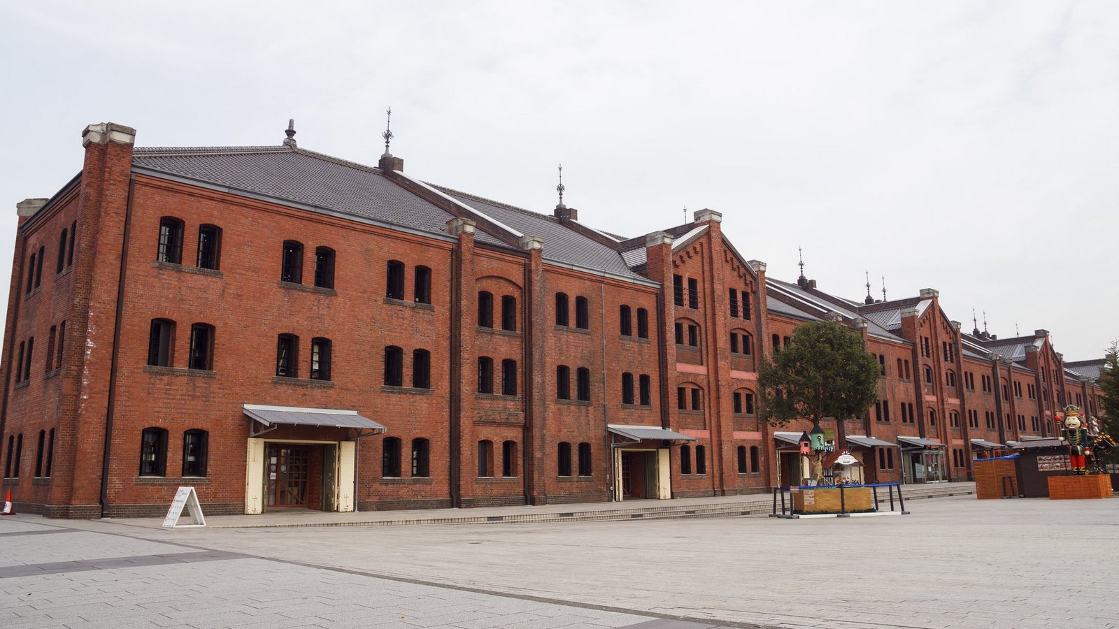 【橫濱景點】紅磚 赤レンガ 倉庫 》現代港口中的優美古蹟 1