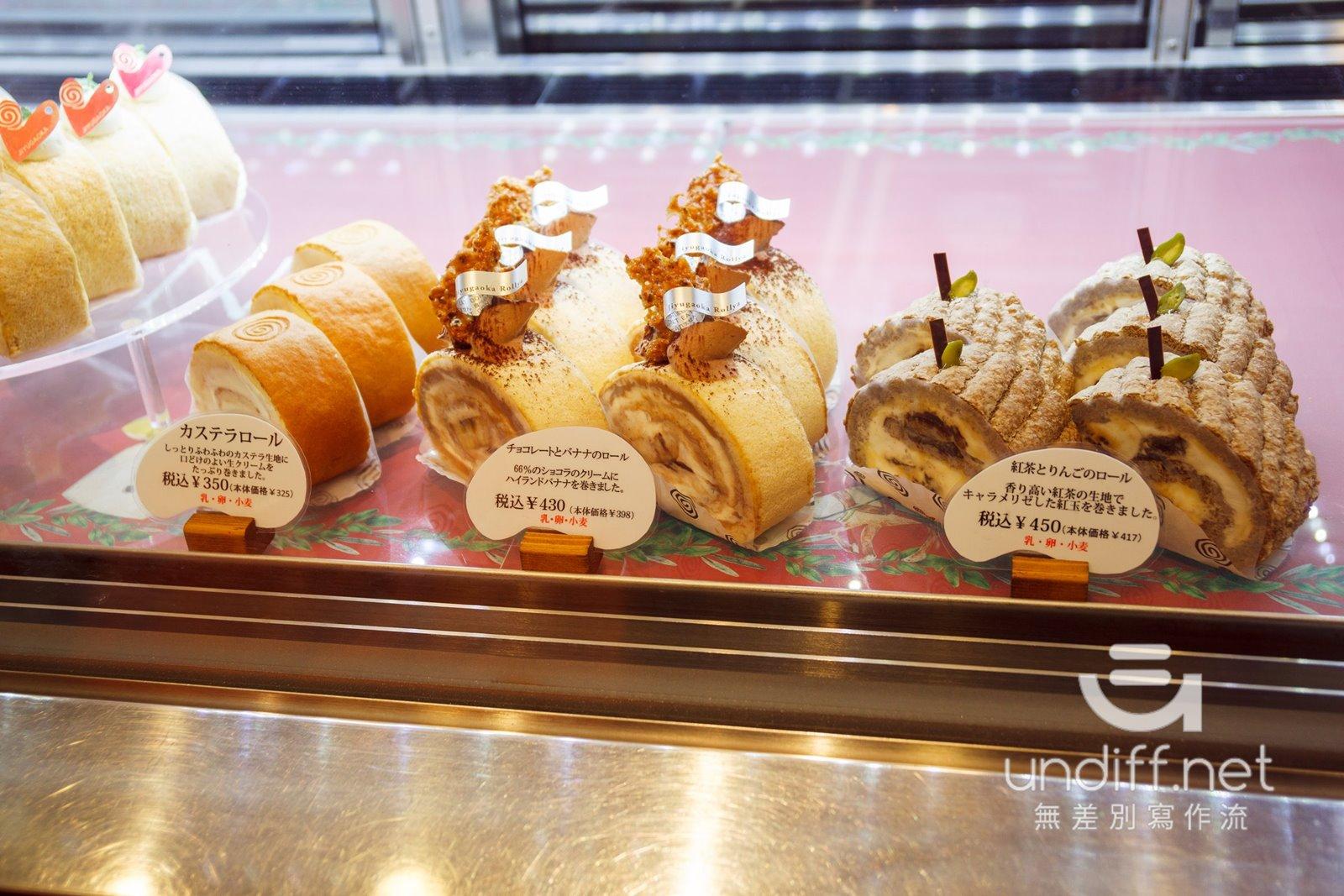 【東京美食】自由之丘 ロール屋 》樸實就很好吃的瑞士蛋糕捲專賣店 10