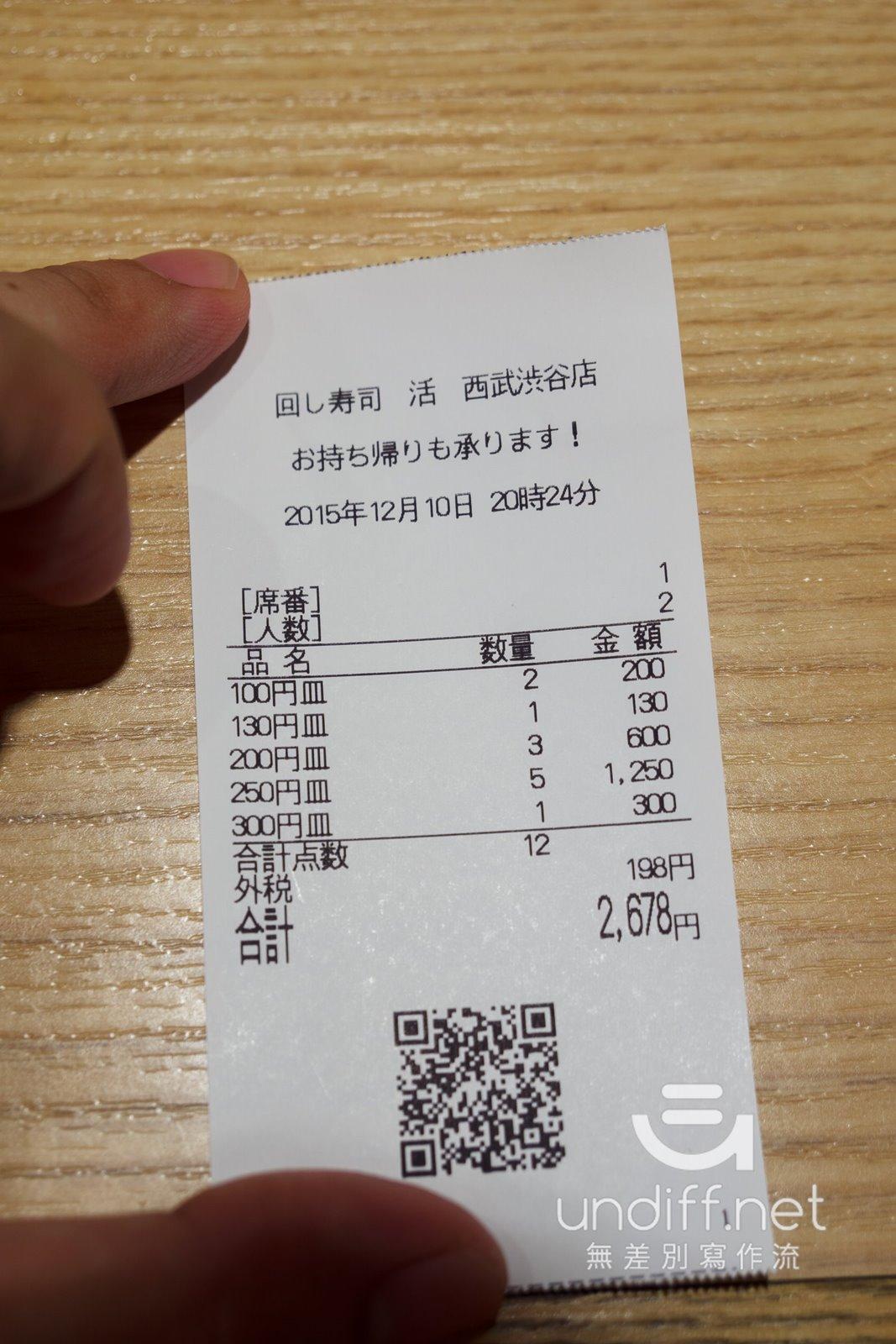 【東京美食】澀谷 回し寿司 活.美登利 西武澀谷店 》超值新鮮又美味的迴轉壽司 74
