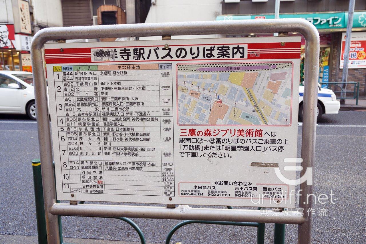 【東京交通】吉祥寺到深大寺 》小田急巴士搭乘方式 8