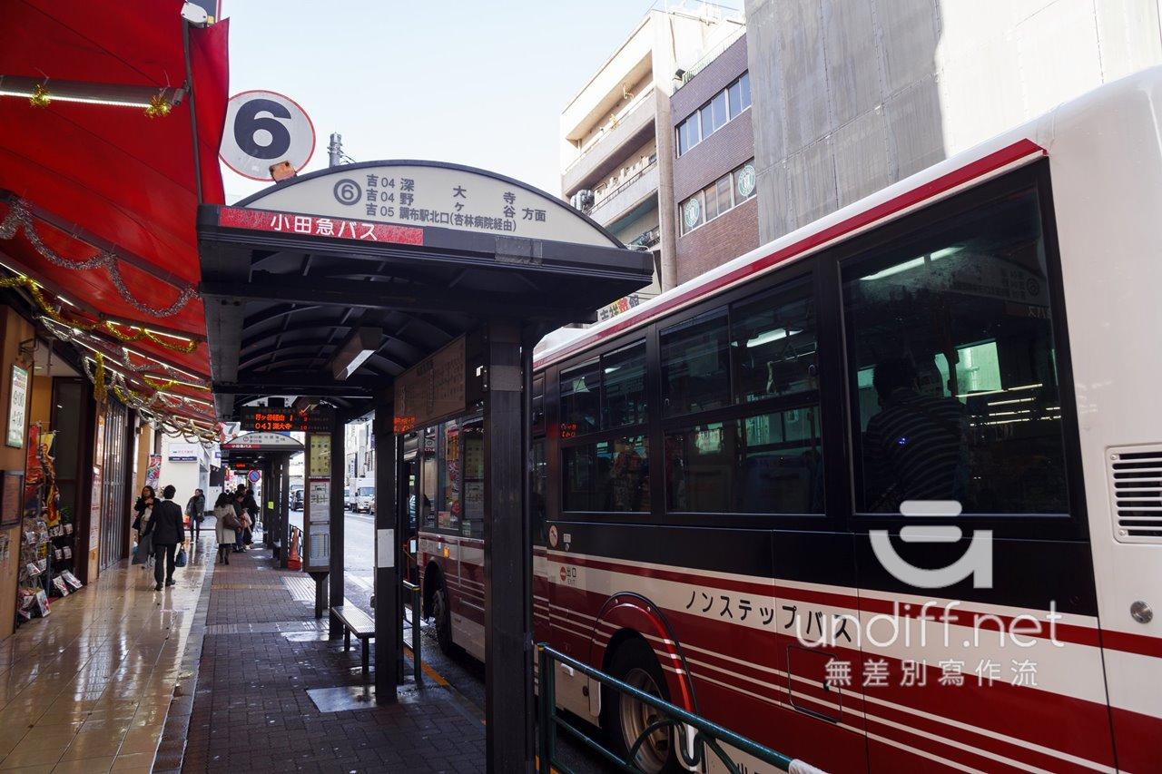 【東京交通】吉祥寺到深大寺 》小田急巴士搭乘方式 16