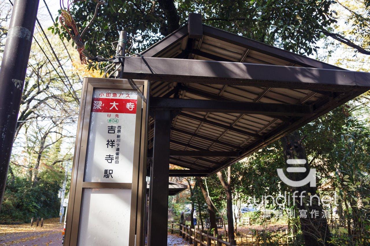 【東京交通】吉祥寺到深大寺 》小田急巴士搭乘方式 28