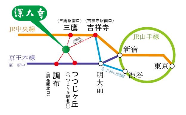 【東京交通】吉祥寺到深大寺 》小田急巴士搭乘方式 2