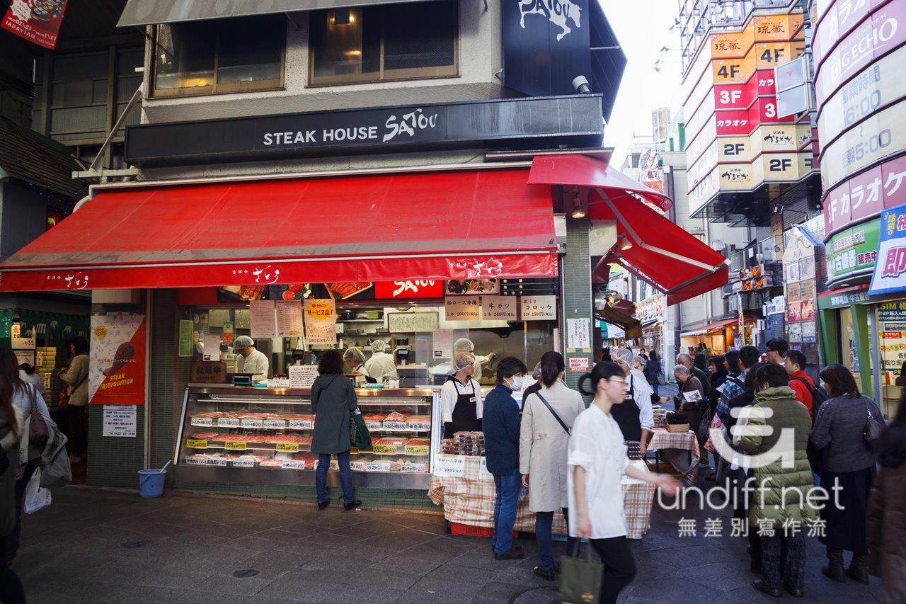 【東京美食】吉祥寺 SATOU 牛肉丸 》可樂餅也好吃的排隊小吃 4