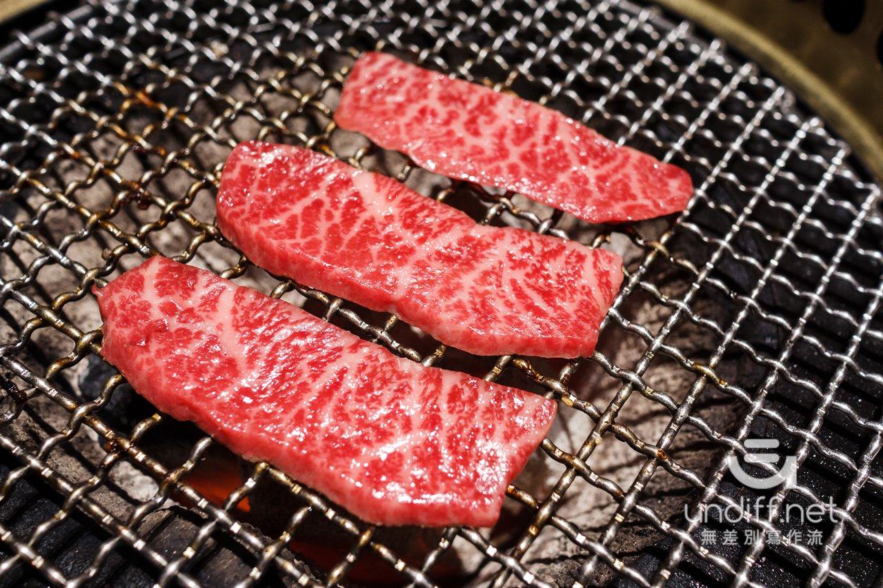 【台北美食】中山 老乾杯 大直店 》價格與美味都很高級的和牛燒肉 96