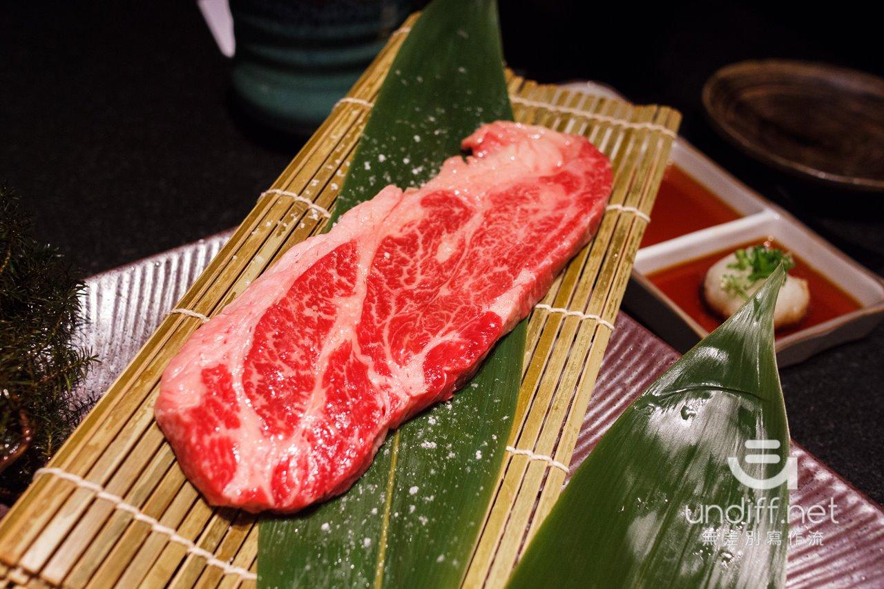 【台北美食】中山 老乾杯 大直店 》價格與美味都很高級的和牛燒肉 106
