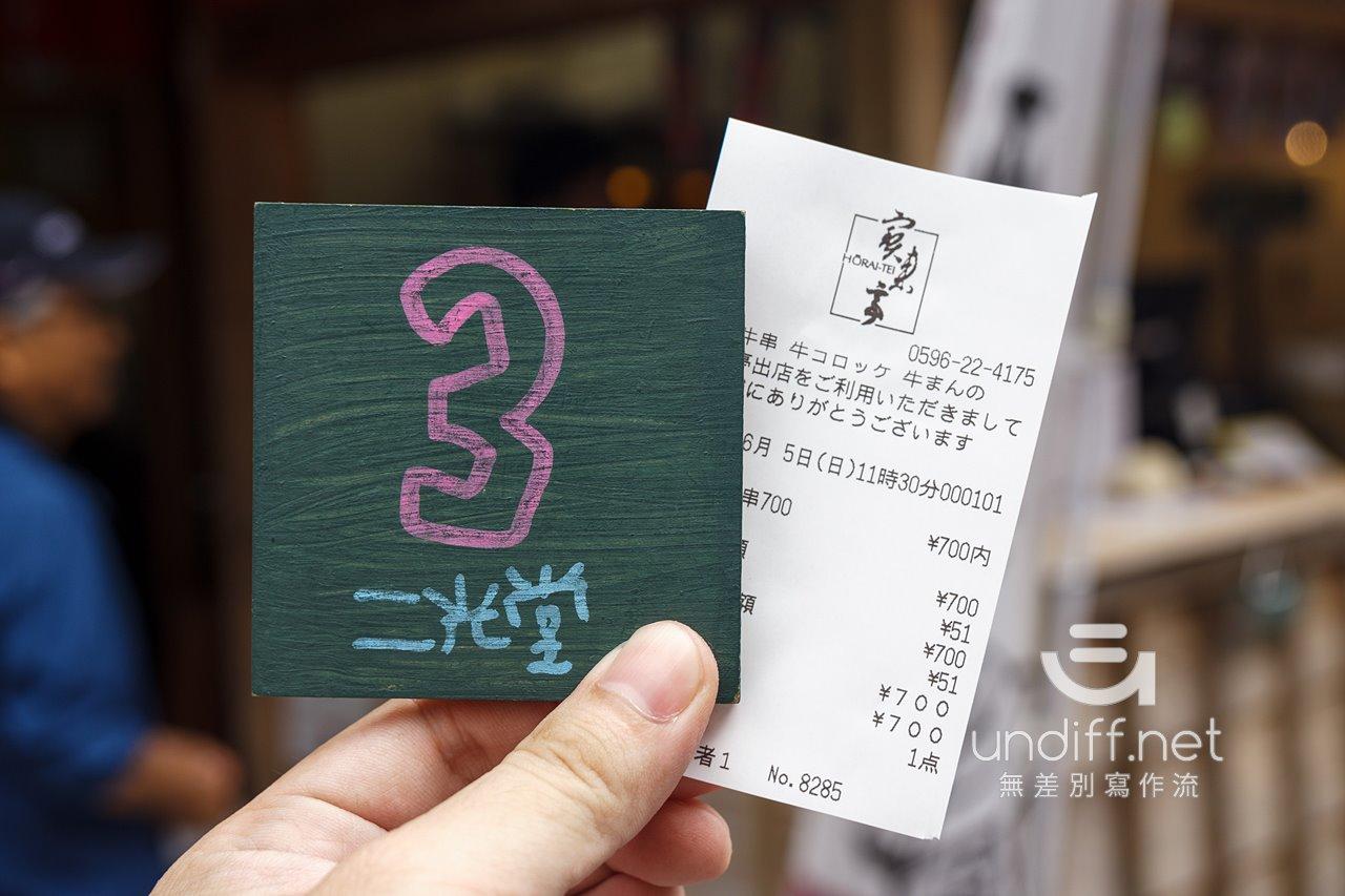 【日本三重   托福橫丁美食】二光堂 寶來亭 》高貴的松阪牛烤肉串 18
