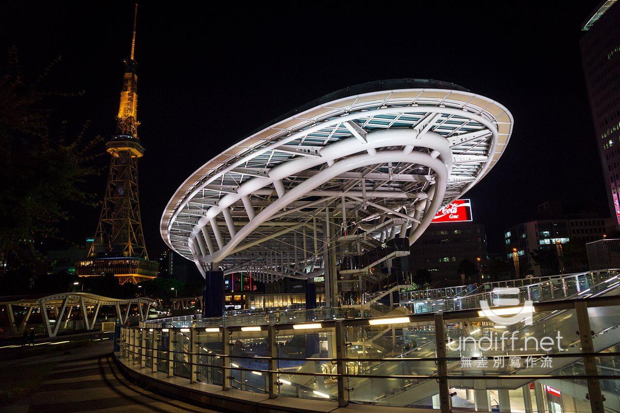 【名古屋景點】名古屋電視塔 & Oasis 綠洲 21 》夢幻水之宇宙船與名古屋高空夜景 2