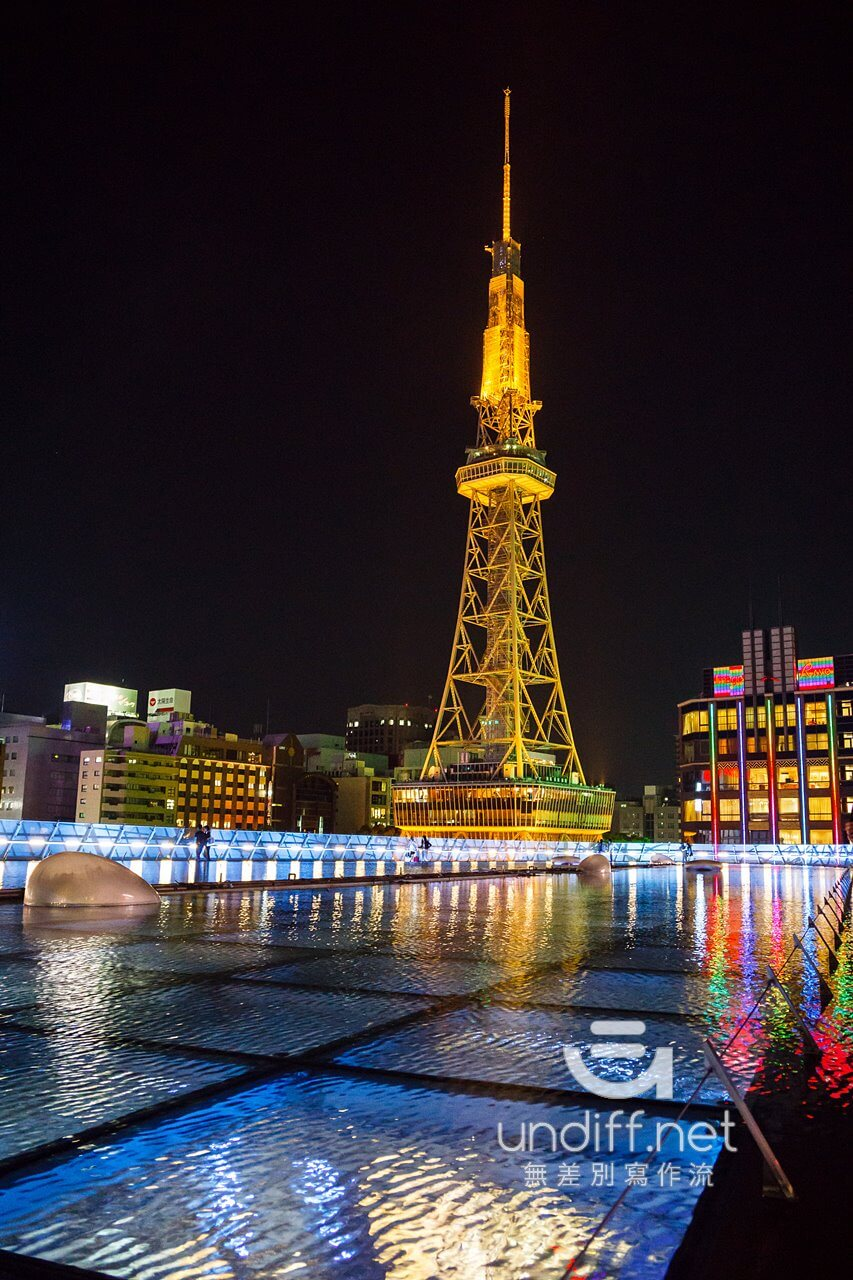 【名古屋景點】名古屋電視塔 & Oasis 綠洲 21 》夢幻水之宇宙船與名古屋高空夜景 32