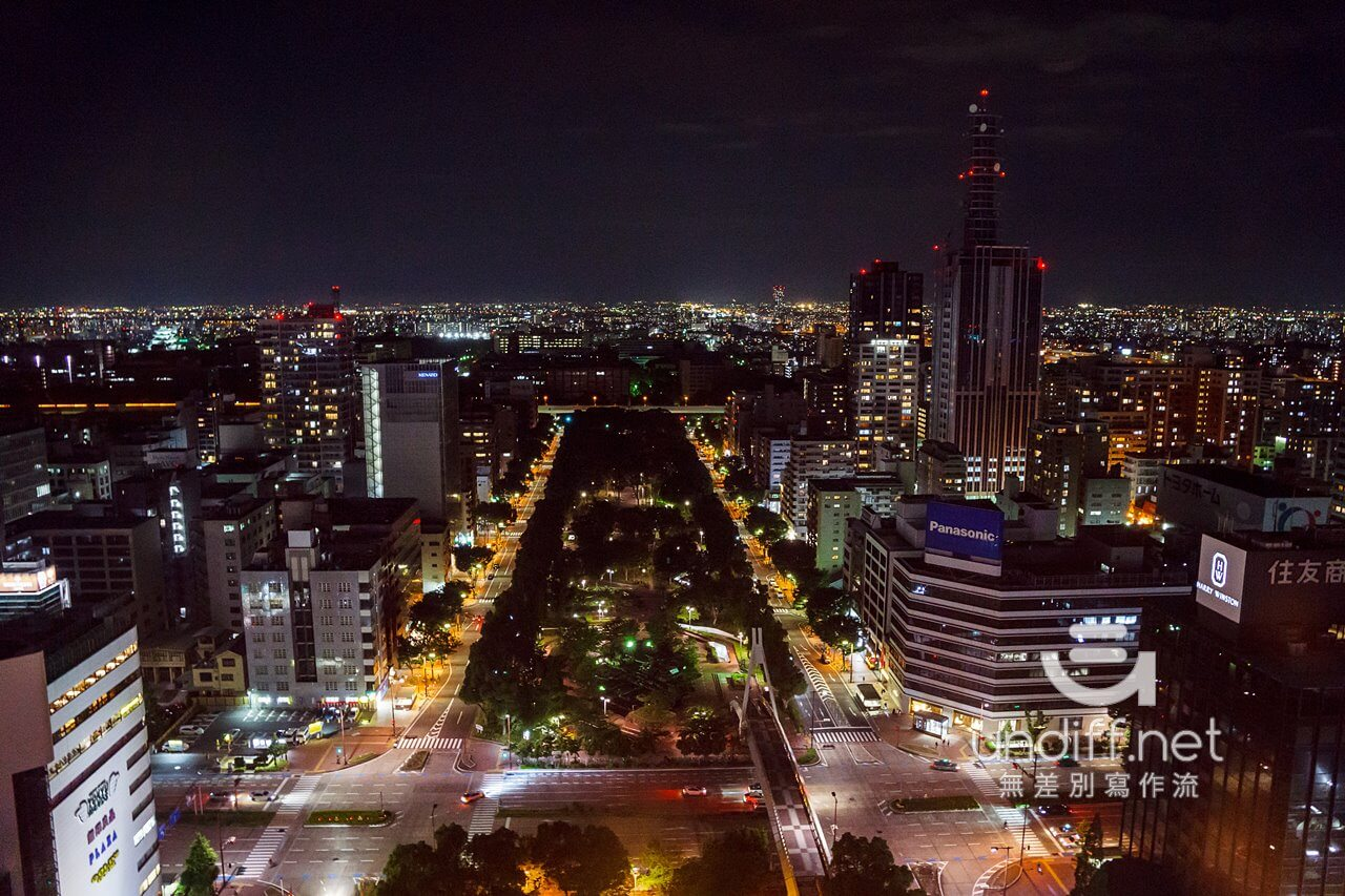 【名古屋景點】名古屋電視塔 & Oasis 綠洲 21 》夢幻水之宇宙船與名古屋高空夜景 44
