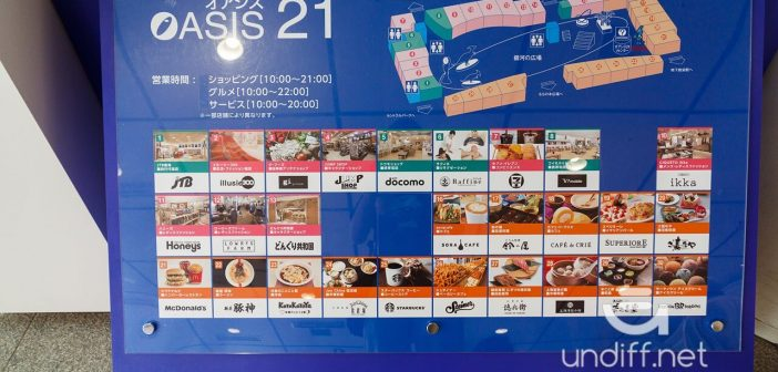 【名古屋景點】名古屋電視塔 & Oasis 綠洲 21 》夢幻水之宇宙船與名古屋高空夜景 6