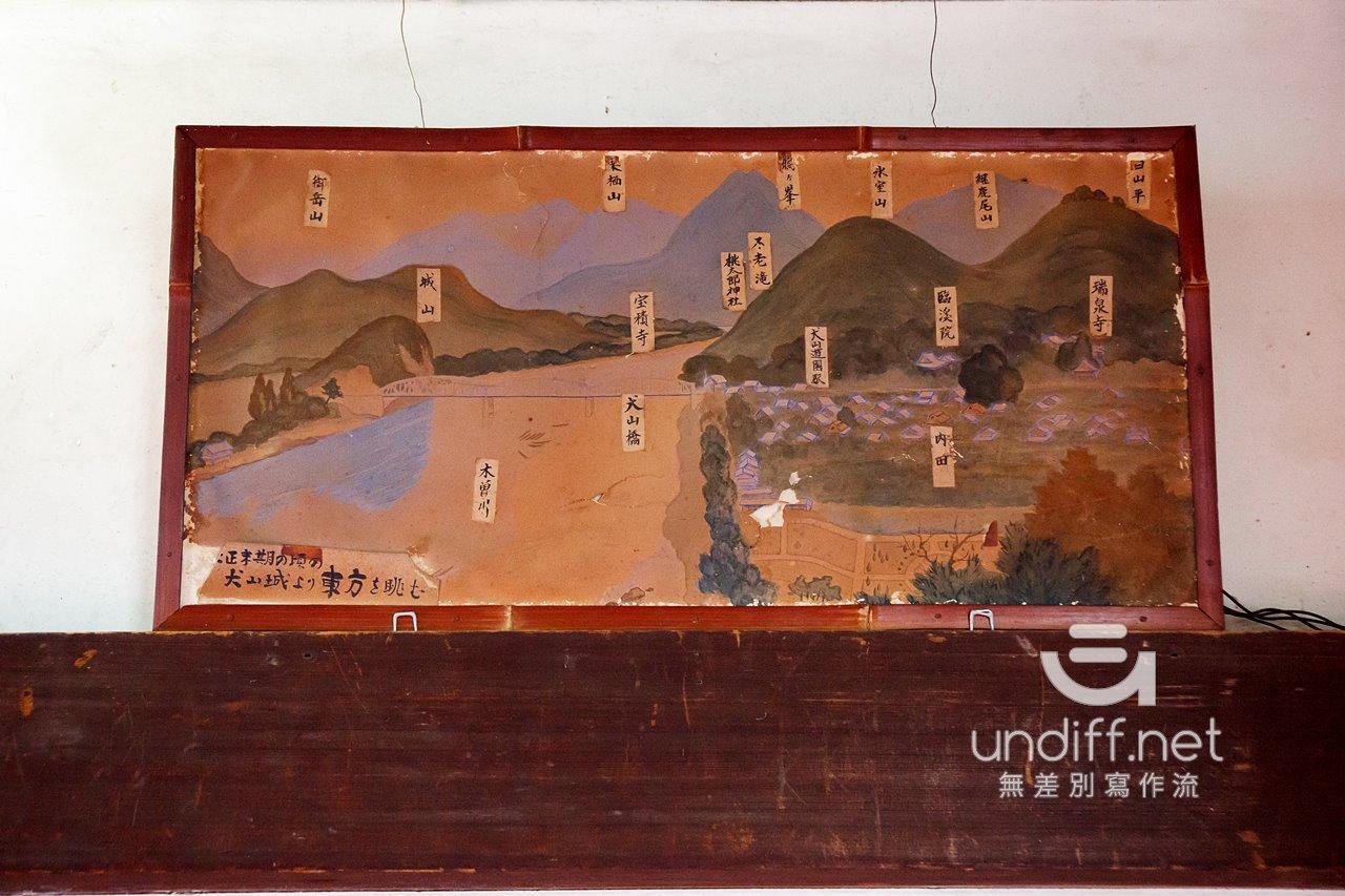【名古屋景點】犬山城 》日本最古老國寶級天守 80