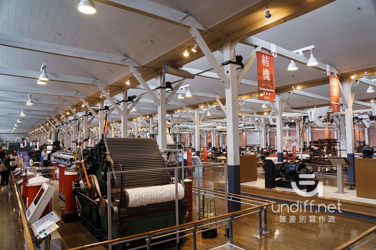 【名古屋景點】豐田產業技術紀念館 》纖維機械館:探索紡織技術的演進 44