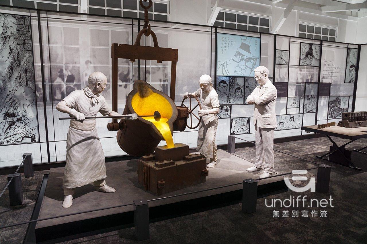 【名古屋景點】豐田產業技術紀念館 》汽車館:瞭解 TOYOTA 的科技與歷史 22