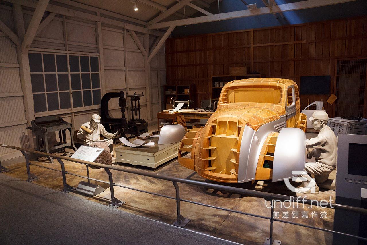 【名古屋景點】豐田產業技術紀念館 》汽車館:瞭解 TOYOTA 的科技與歷史 24