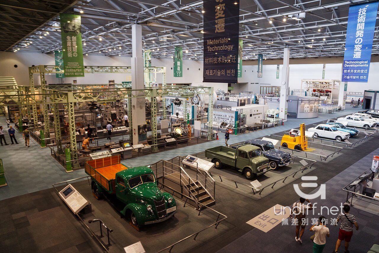 【名古屋景點】豐田產業技術紀念館 》汽車館:瞭解 TOYOTA 的科技與歷史 62
