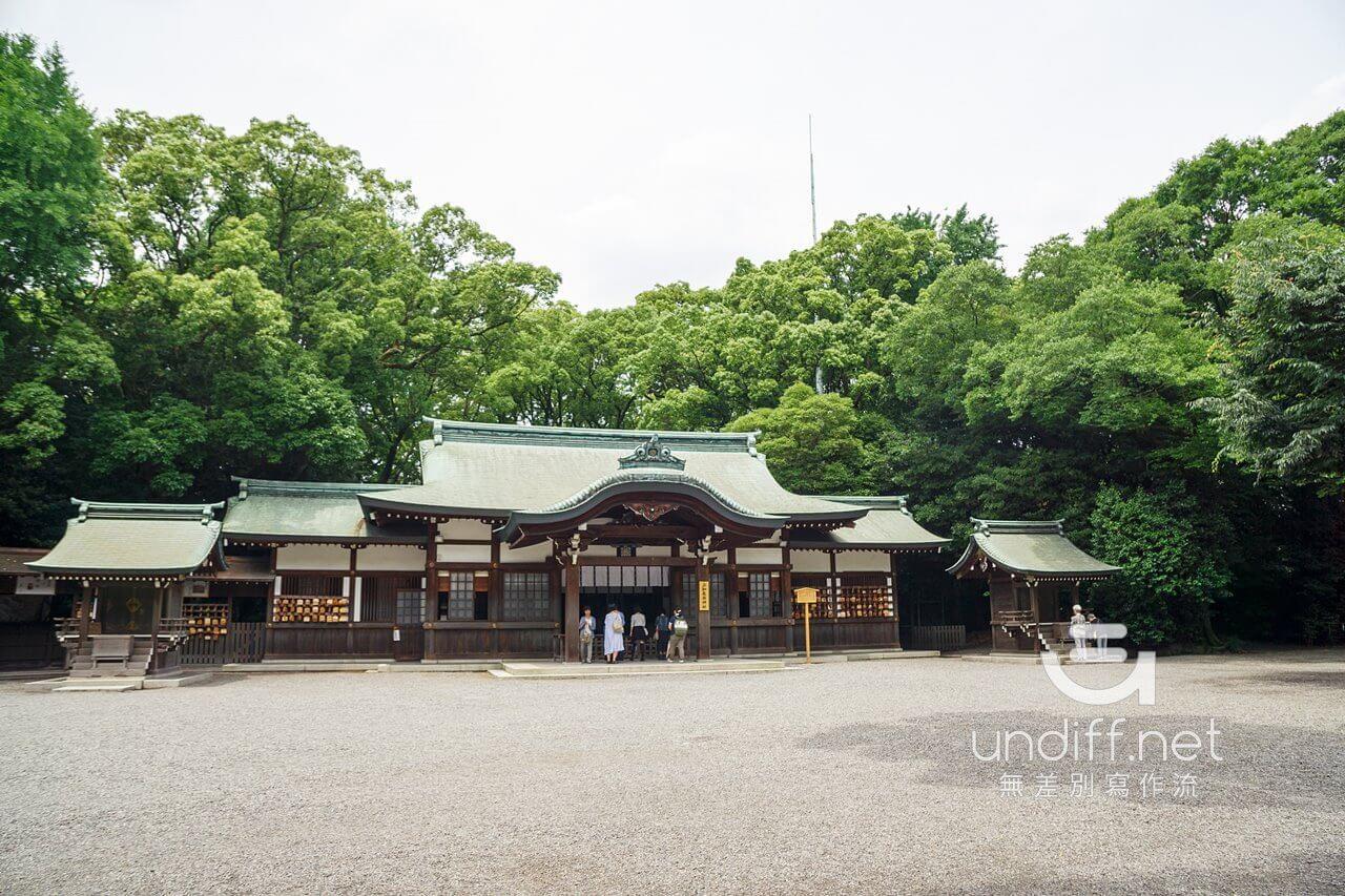 【名古屋景點】熱田神宮 》綠蔭中的日本三大神宮 52