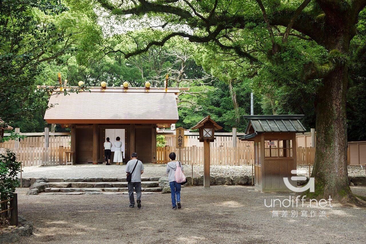 【名古屋景點】熱田神宮 》綠蔭中的日本三大神宮 50