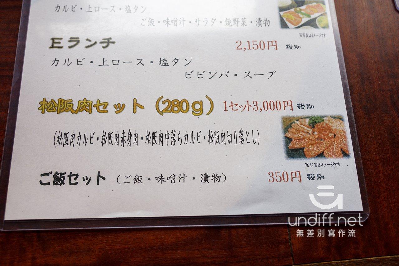 【名古屋美食】一升びん 》一人輕鬆獨享松阪牛燒肉套餐 26