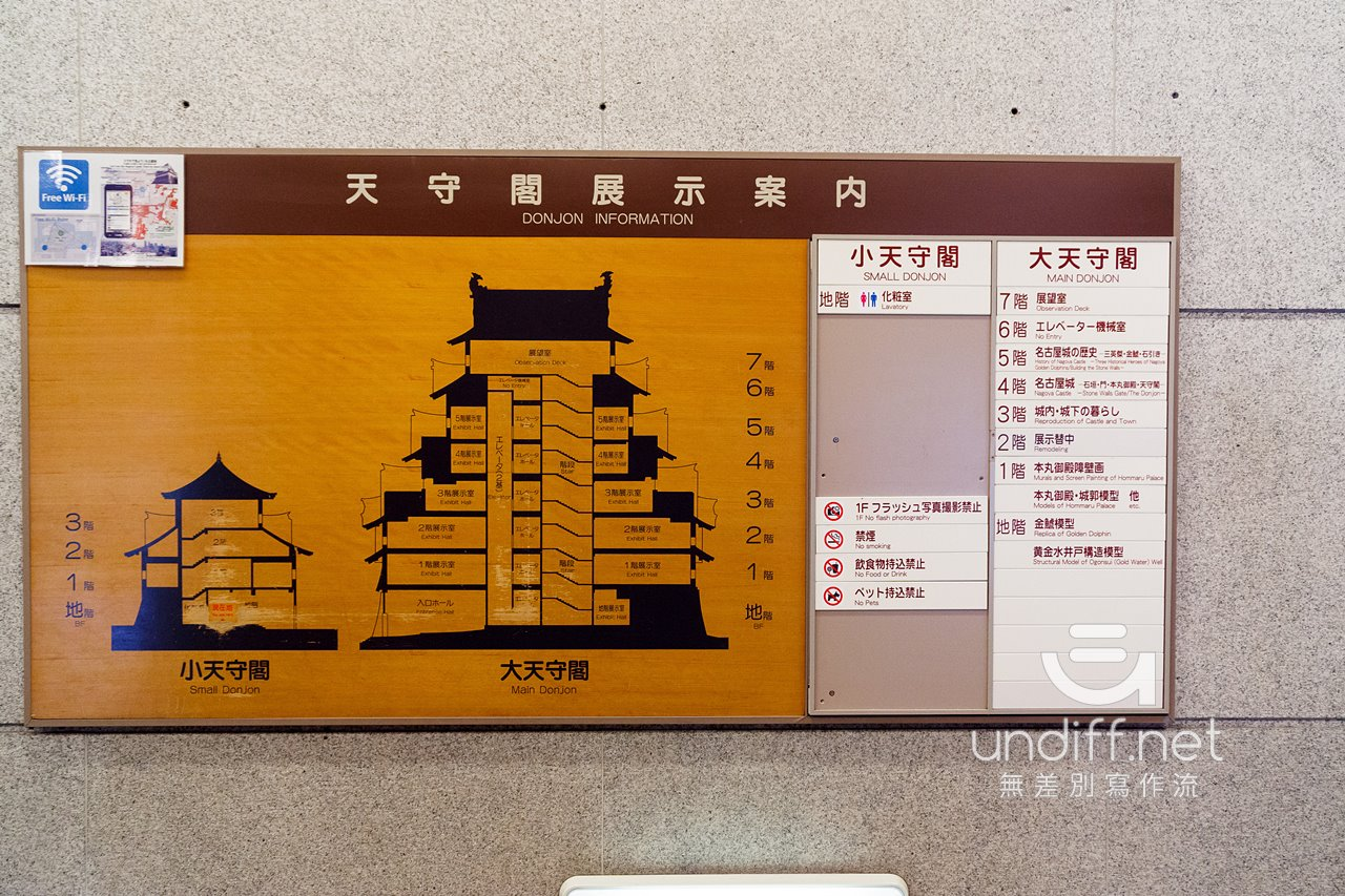 【名古屋景點】名古屋城 》天守閣、本丸御殿與金鯱 50