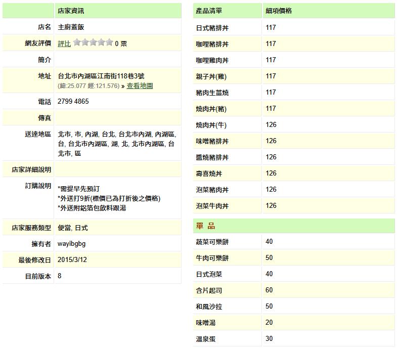 【內湖 訂便當日記】主廚蓋飯 4