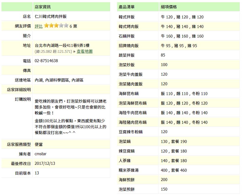 【內湖 訂便當日記】仁川韓式烤肉拌飯 2
