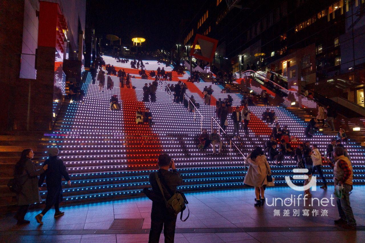 【京都景點】京都車站 聖誕燈飾 》車站中的聖誕樹與光之階梯 14