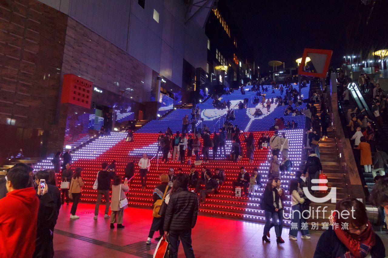 【京都景點】京都車站 聖誕燈飾 》車站中的聖誕樹與光之階梯 10