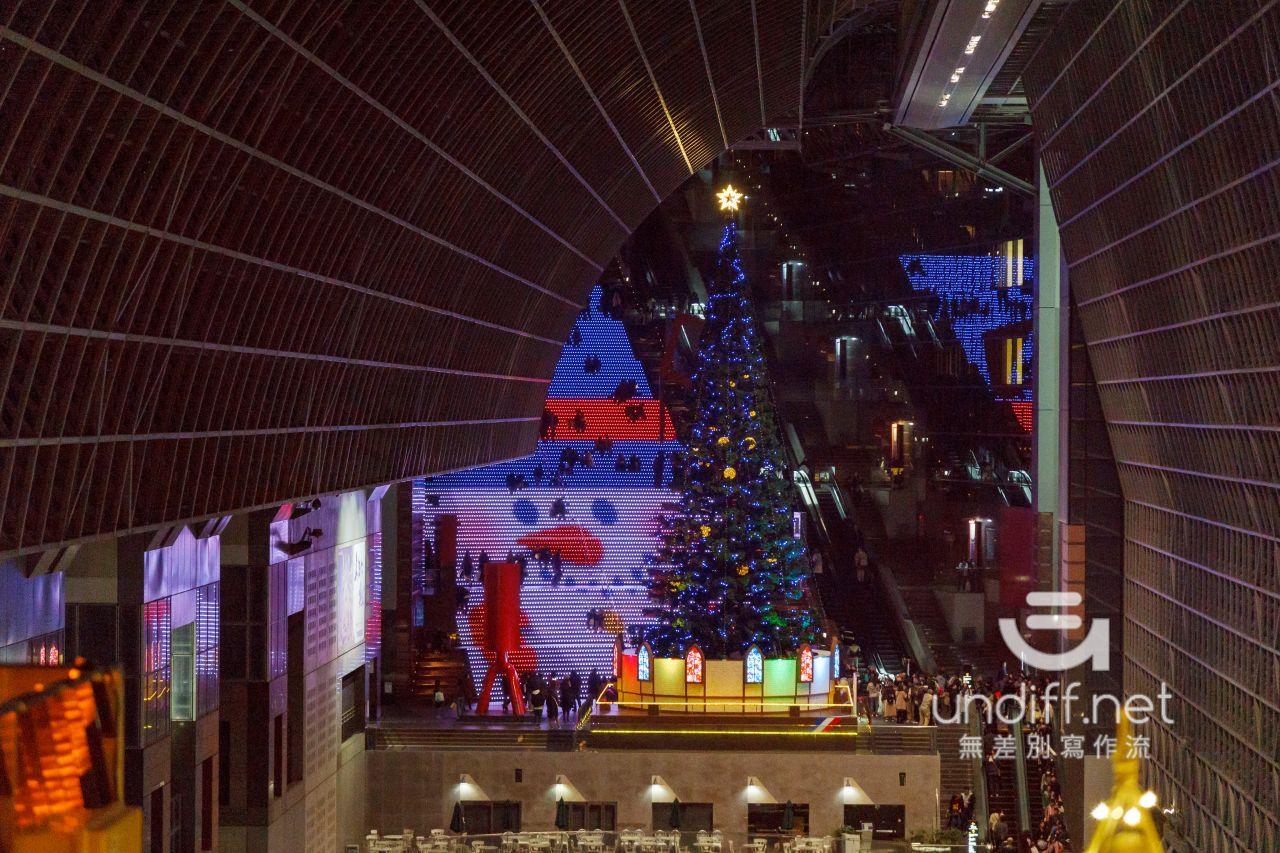 【京都景點】京都車站 聖誕燈飾 》車站中的聖誕樹與光之階梯 42