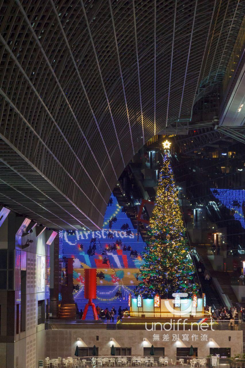 【京都景點】京都車站 聖誕燈飾 》車站中的聖誕樹與光之階梯 44