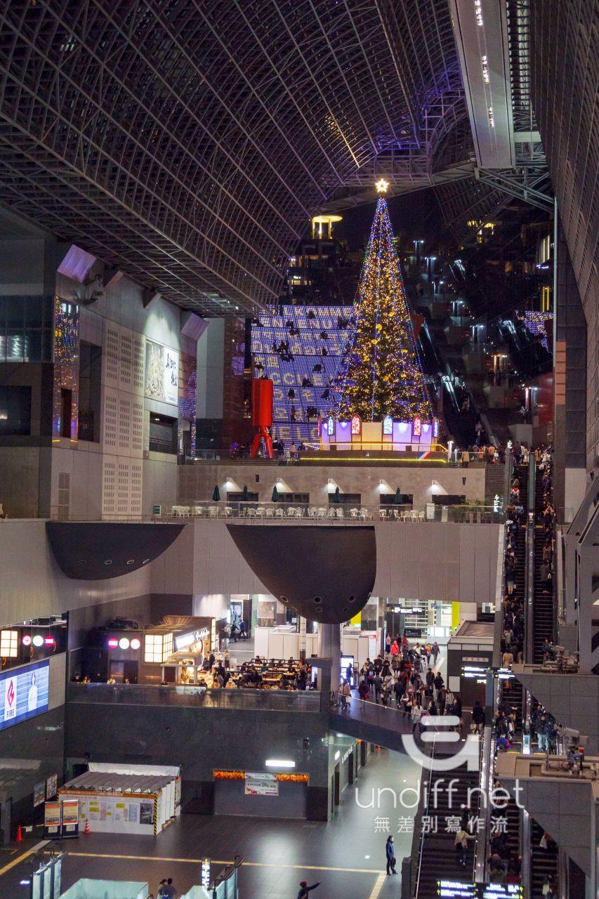 【京都景點】京都車站 聖誕燈飾 》車站中的聖誕樹與光之階梯 46