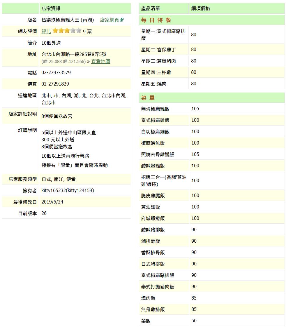 【內湖 訂便當日記】伍柒玖椒麻雞大王 4