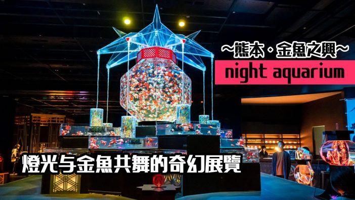 【熊本展覽】Art Aquarium 金魚展 》燈光與金魚共舞的奇幻展覽 2