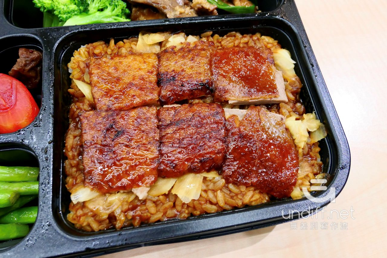 【台北便當】華泰飯店 鴨香寶餐盒 》199元飯店級烤鴨三吃便當 6